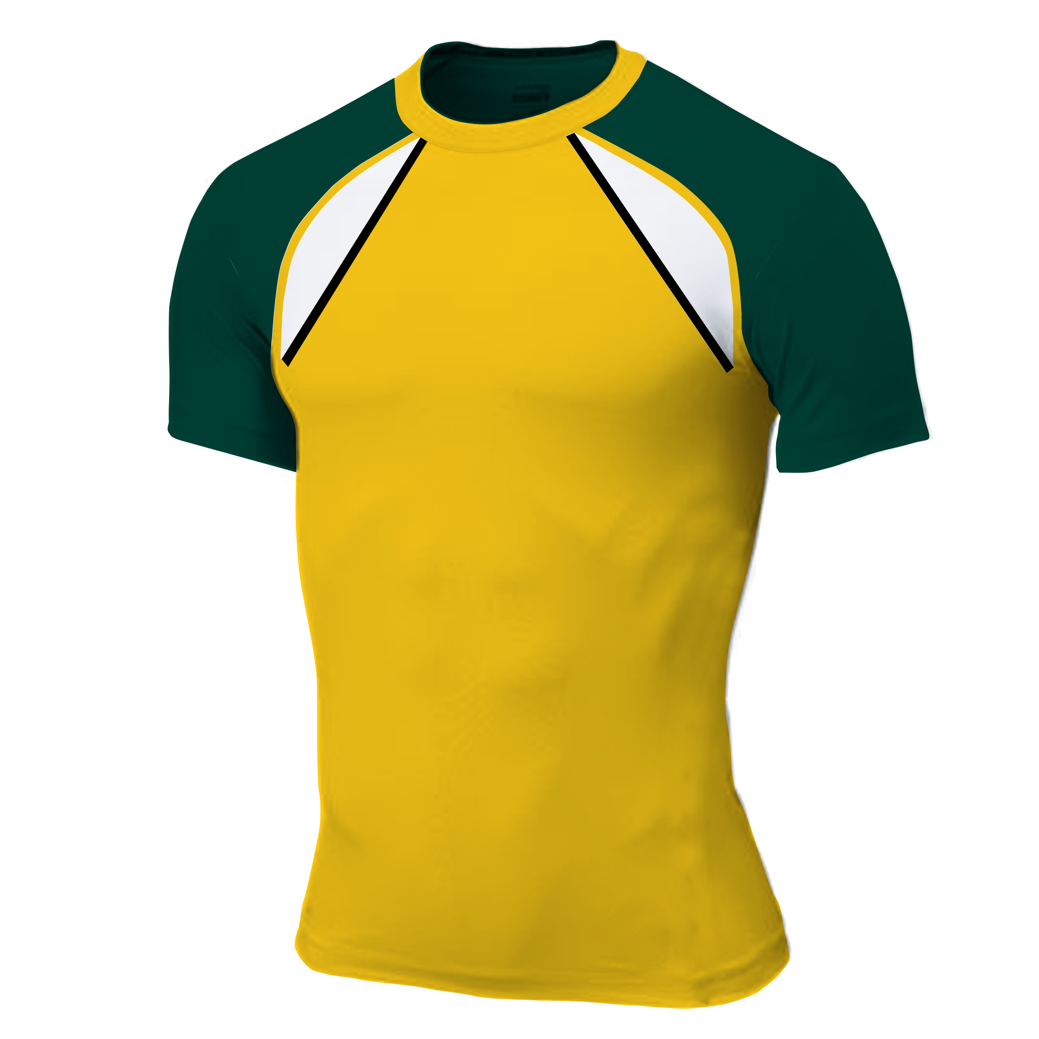 Panelled - T-shirt - Mick