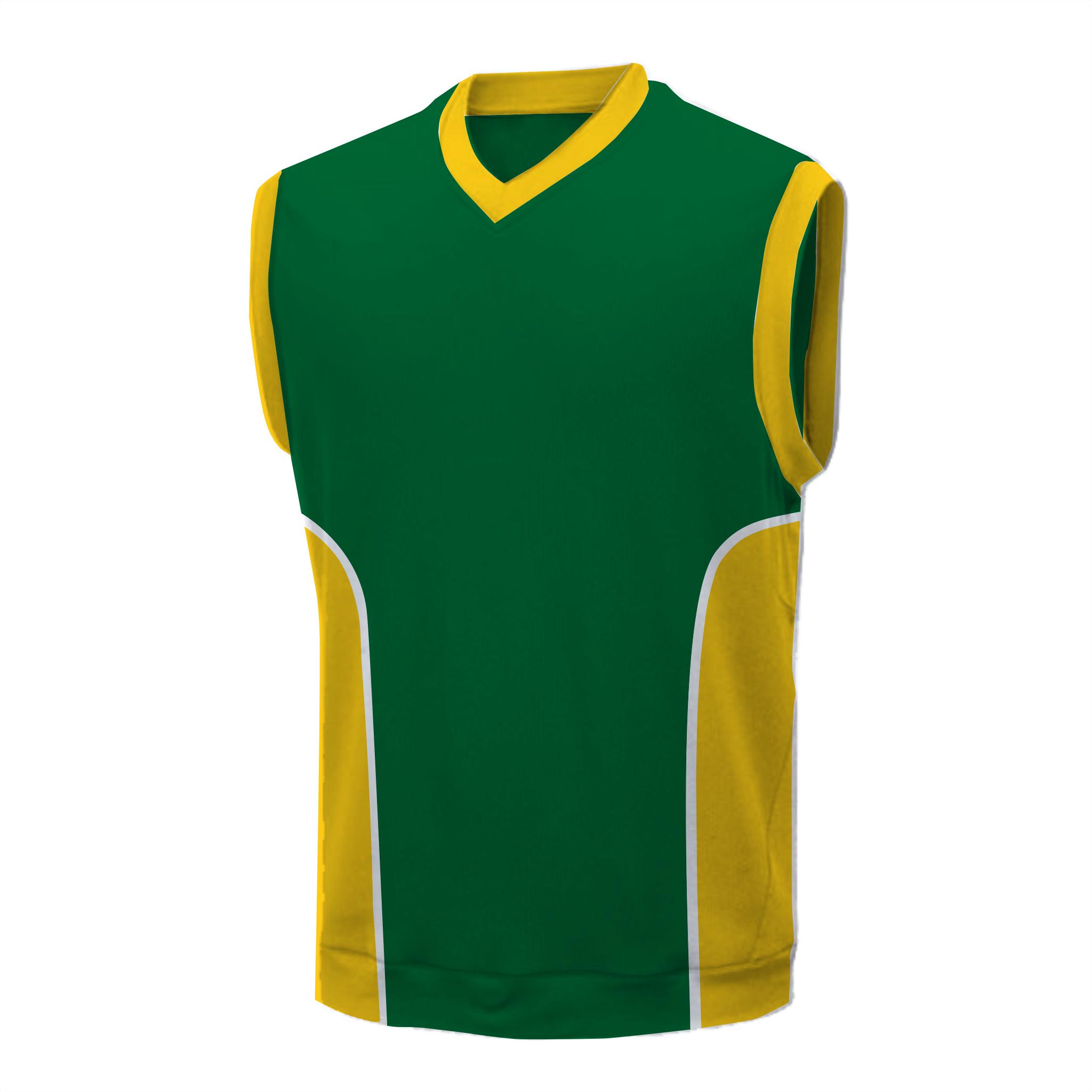 Panelled mens VB shirt - Bolt