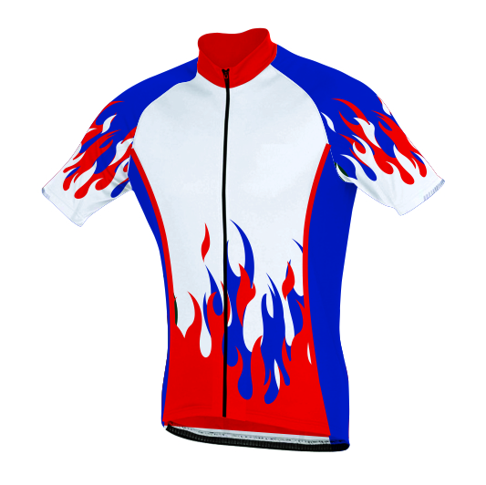 Sublimated Zuco Cycling Shirt - Binard