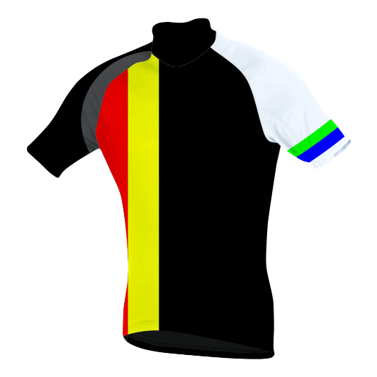Sublimated Zuco Cycling Shirt - Andreas