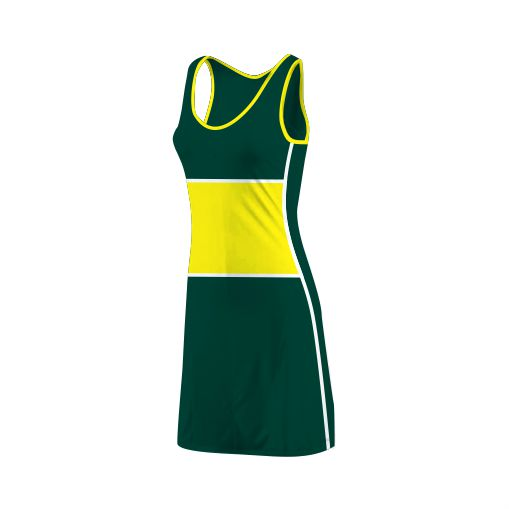 Panelled Zuco dress - Tina