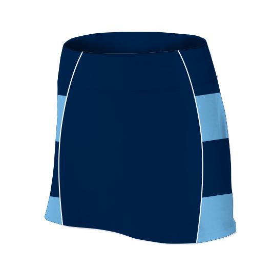 Panelled Zuco netball skirt - Elsunet