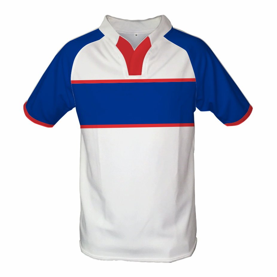 Panelled Zuco Rugby Jersey - Bullet