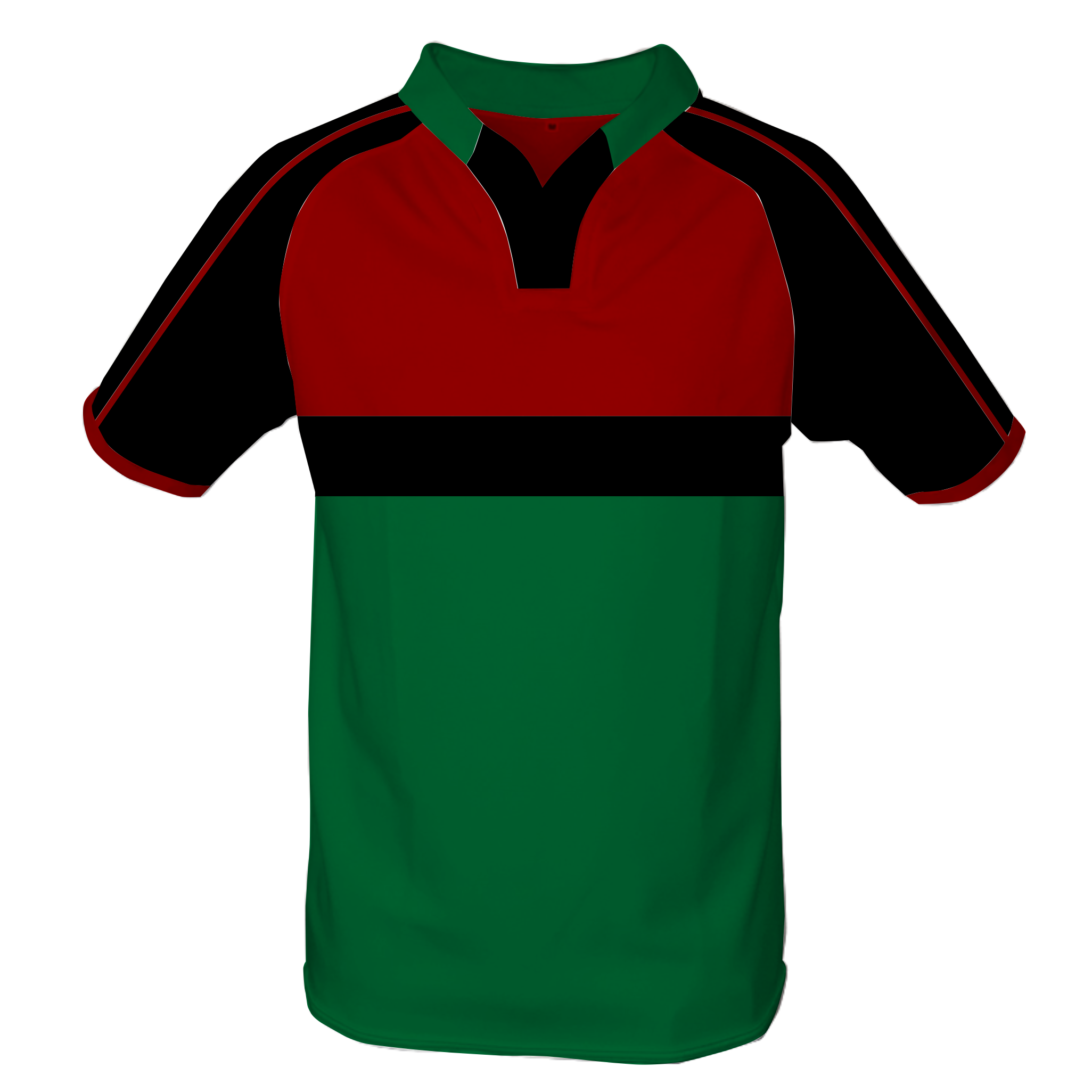 Panelled Zuco Rugby Jersey - Fourie