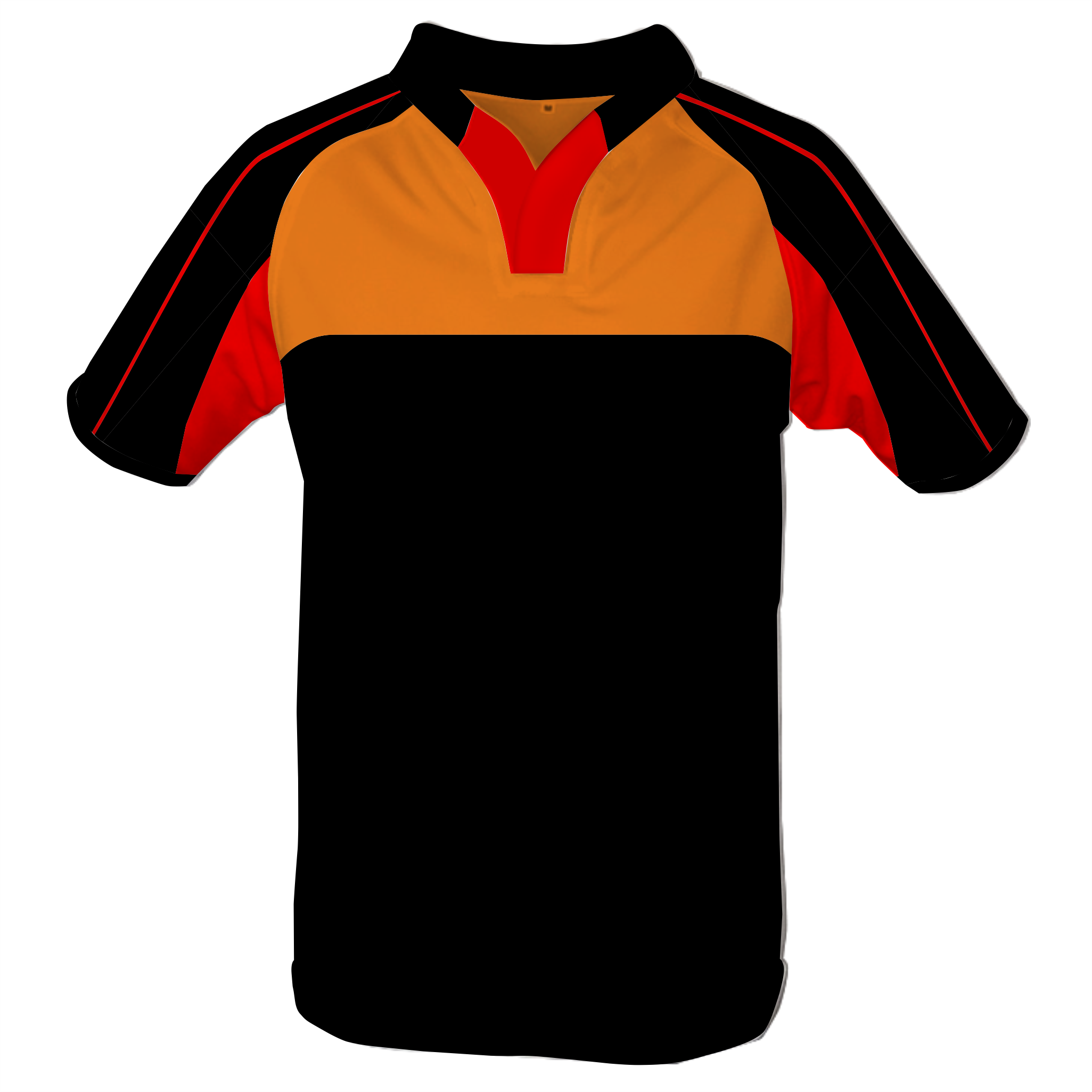 Panelled Zuco Rugby Jersey - Beast