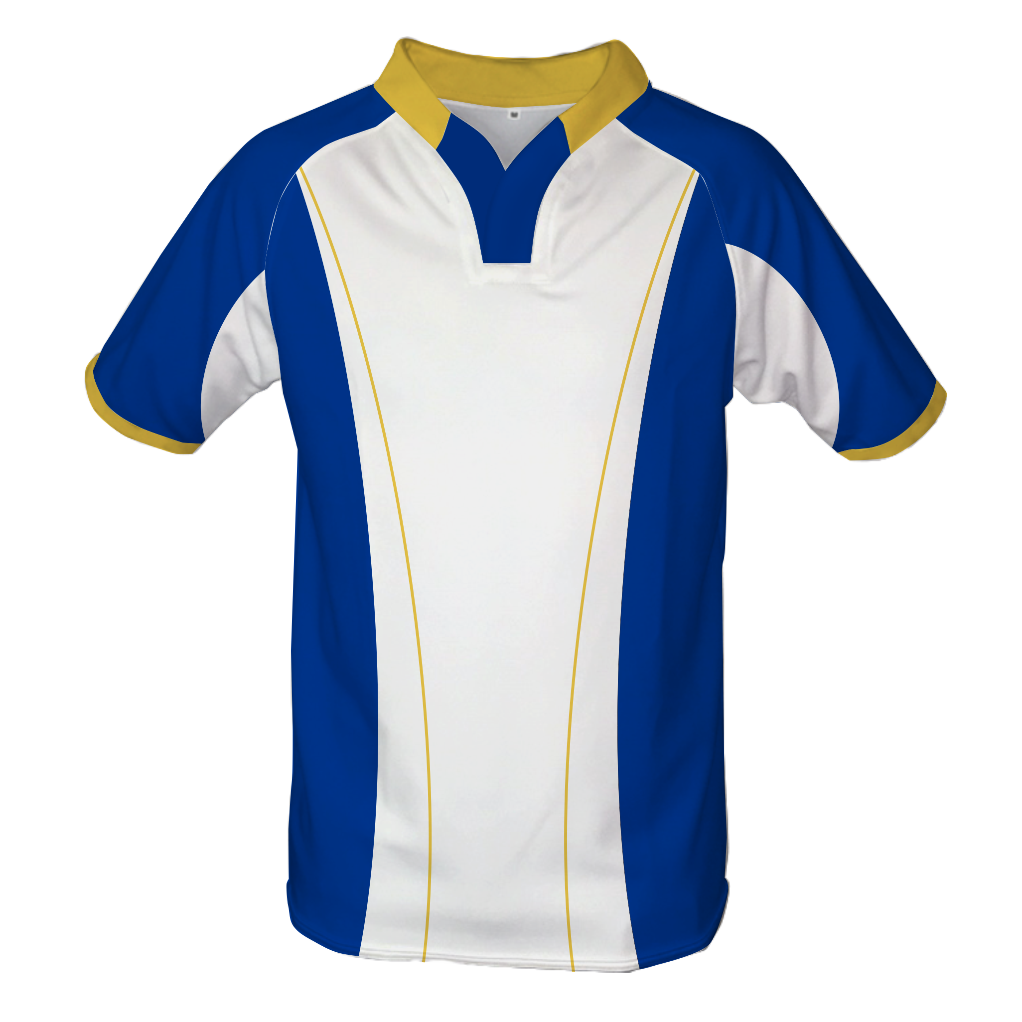 Panelled Zuco Rugby Jersey - Derick