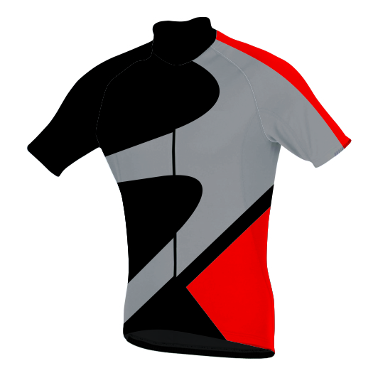 Sublimated Zuco Cycling Shirt - Jens