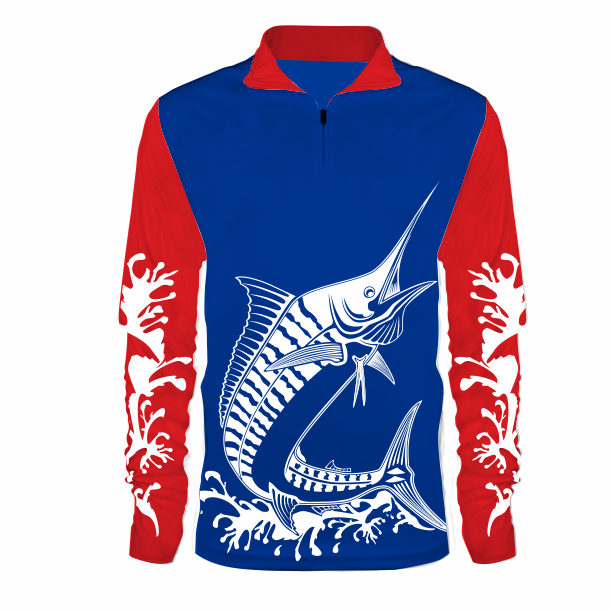 Sublimated - Fishing shirt - Marlin