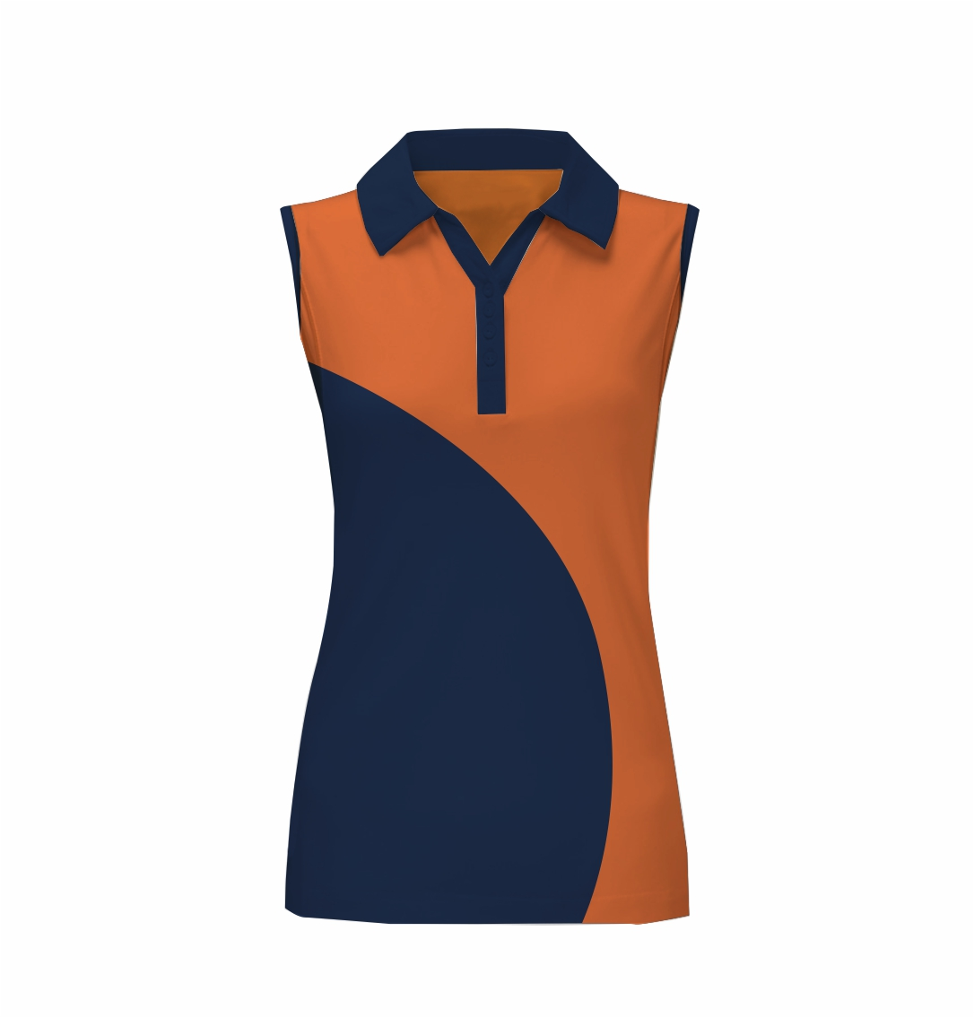 Panelled - Zuco ladies Top - Court