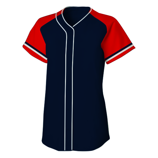 Panelled - Traditional Softball Shirt - Hannah