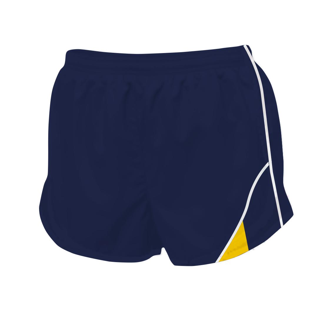 Panelled Zuco running shorts - Amelia