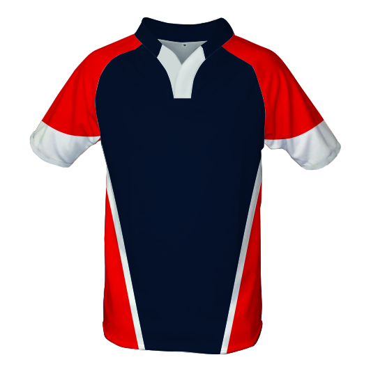 Panelled Zuco Rugby Jersey - James