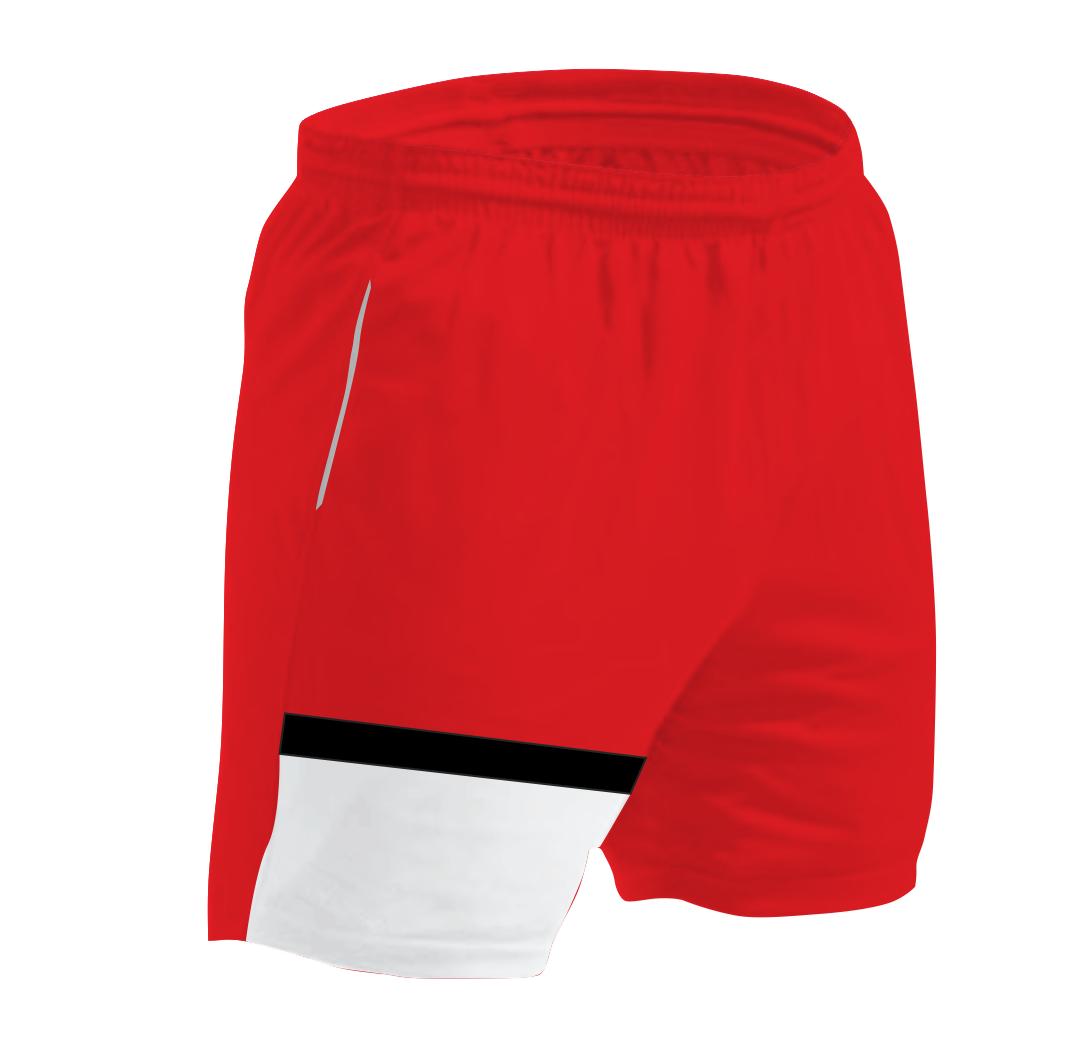 Panelled Zuco shorts - Zlatan
