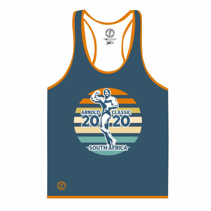 Mens Gym Vest - Blue