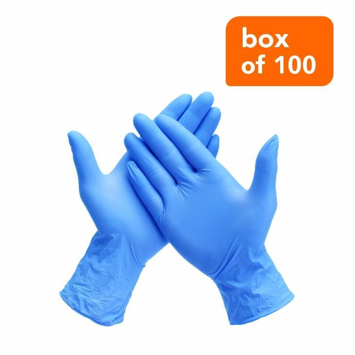 Gloves Nitrile (box Of 100)