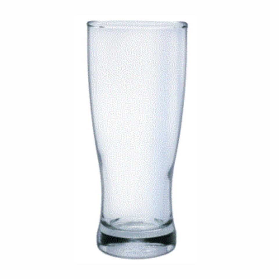 375ml Flared Pilsner Glass. Branding Excluded