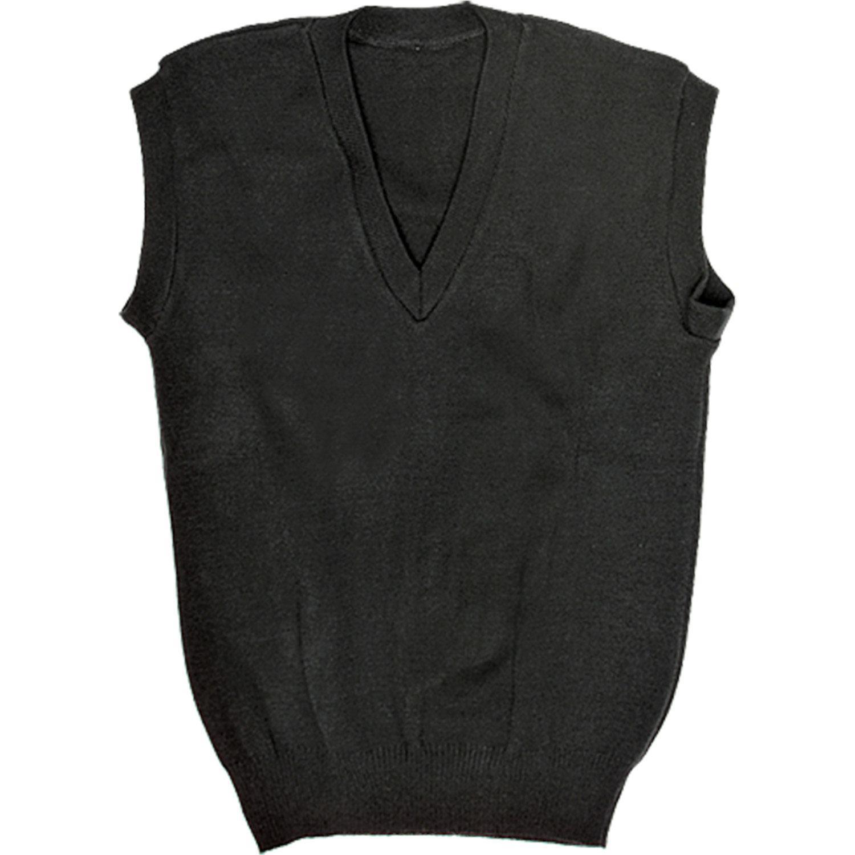 Jersey V-neck L/s - Black / Navy / Cedar Green