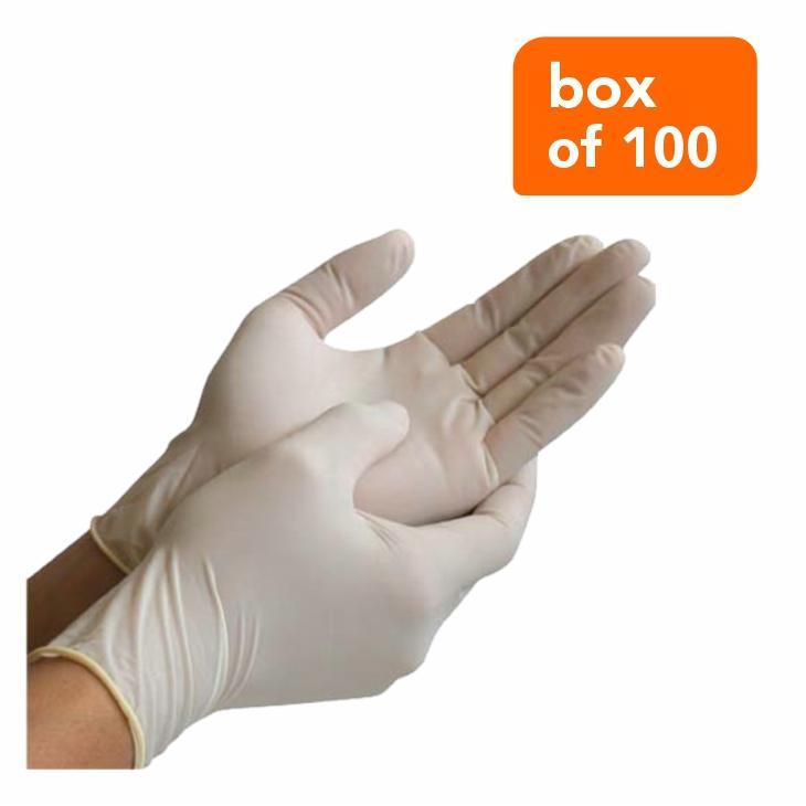 Gloves Latex (box Of 100)