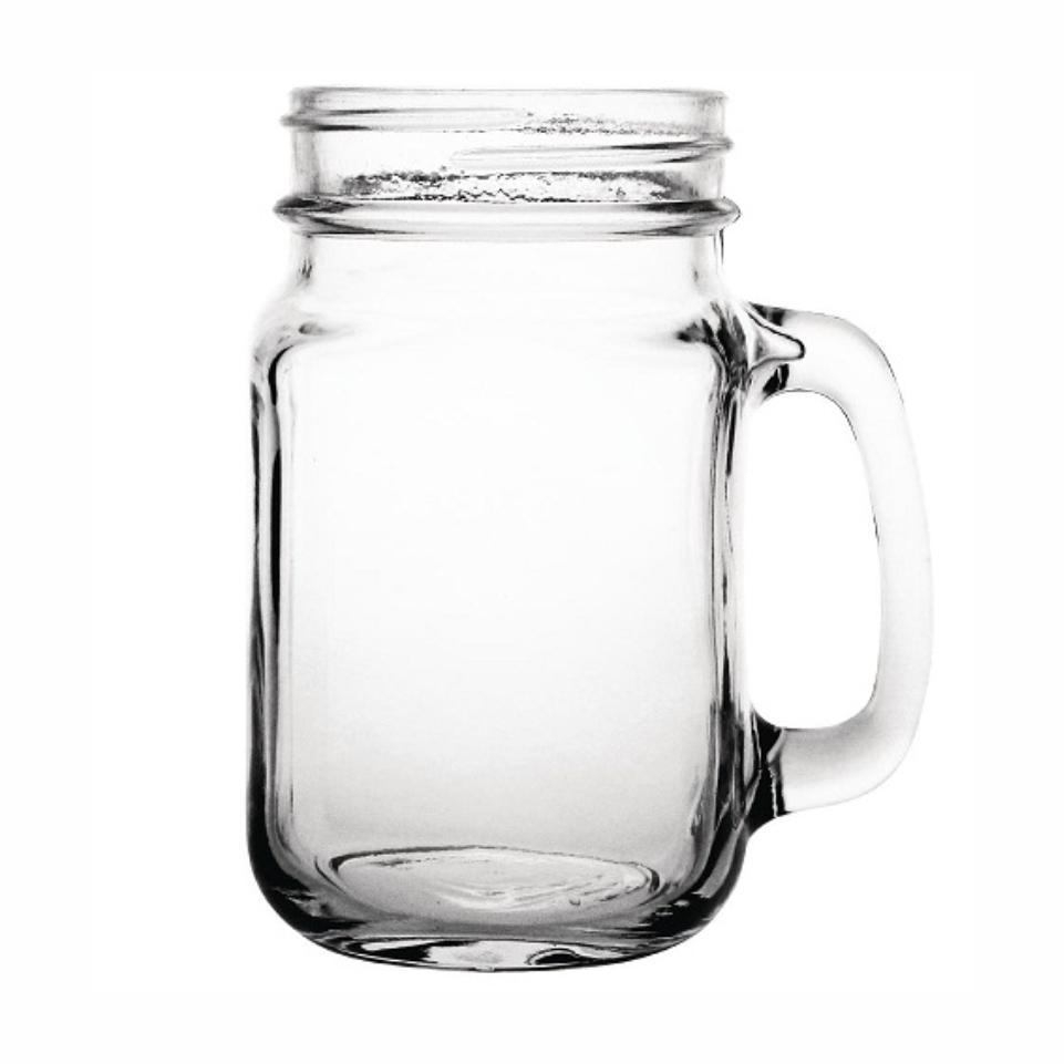 450ml Drinking Jar - No Lid. Branding Excluded