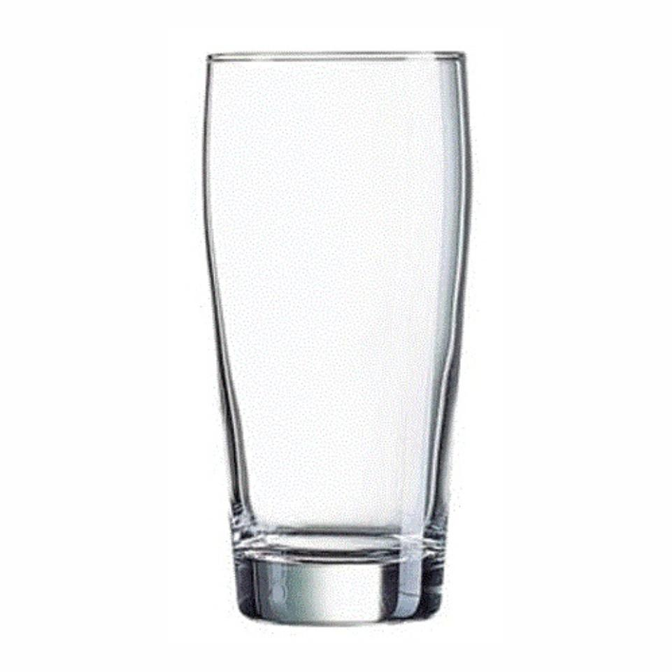 380ml Willy Glass. Branding Excluded