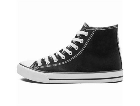 Unisex Retro High Top Canvas Sneaker