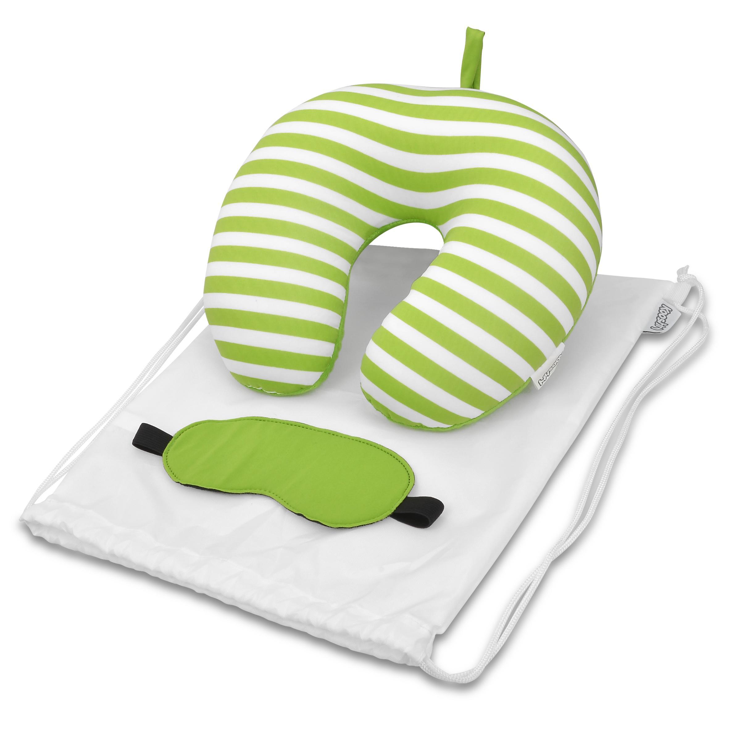 Kooshty Comfy Travel Set - Lime Only