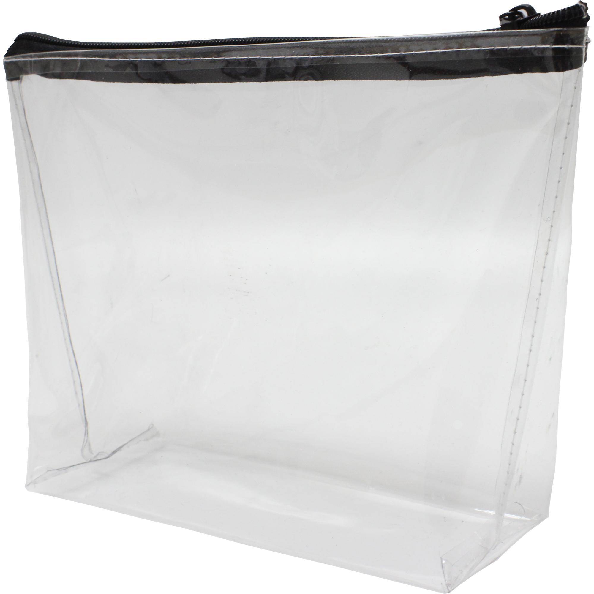 Adeja Pvc Cosmetic Bag With 1 Col Screen Print