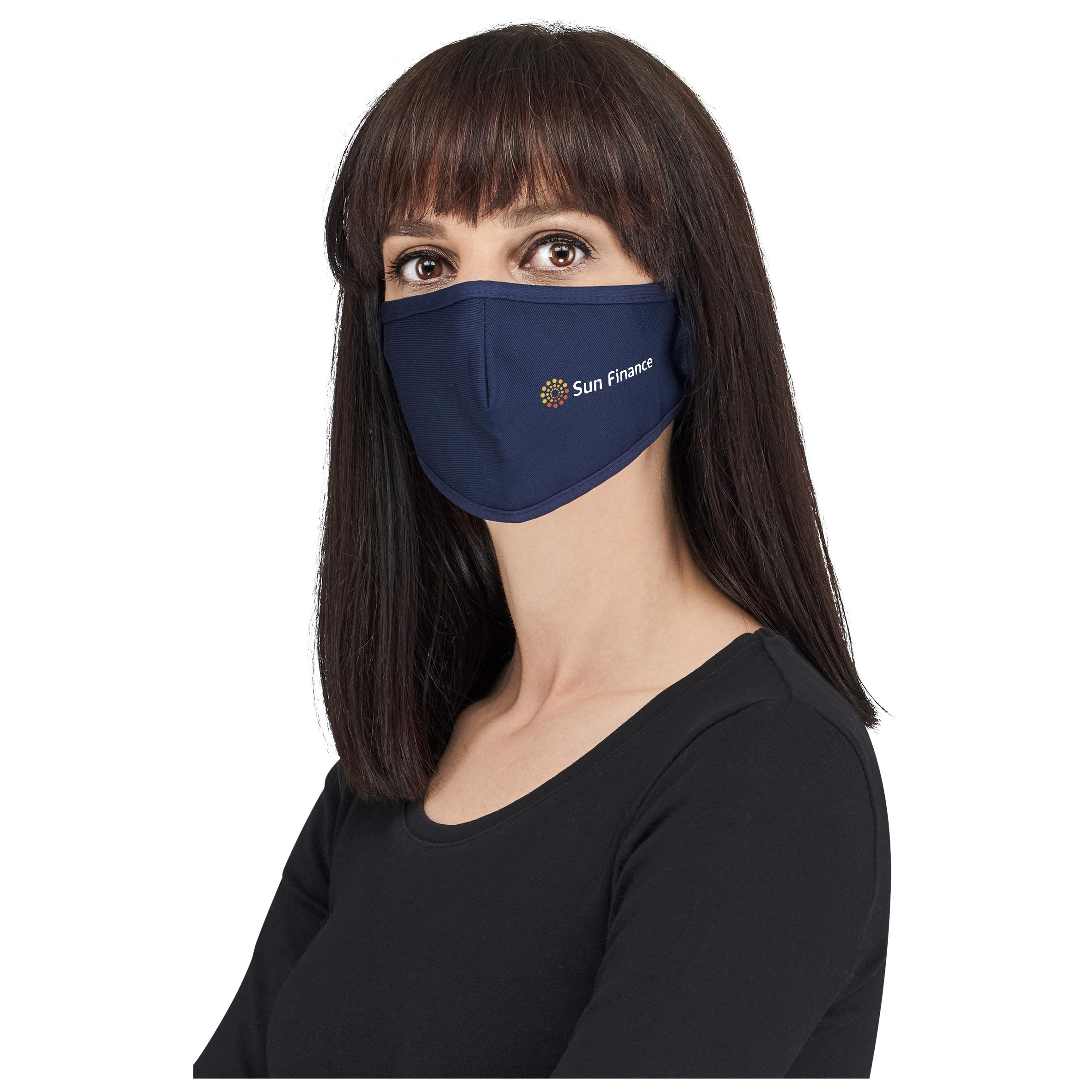 FACE MASKS & SHIELDS   Iona Adults Double-layer Ear Loop Face Mask - 4