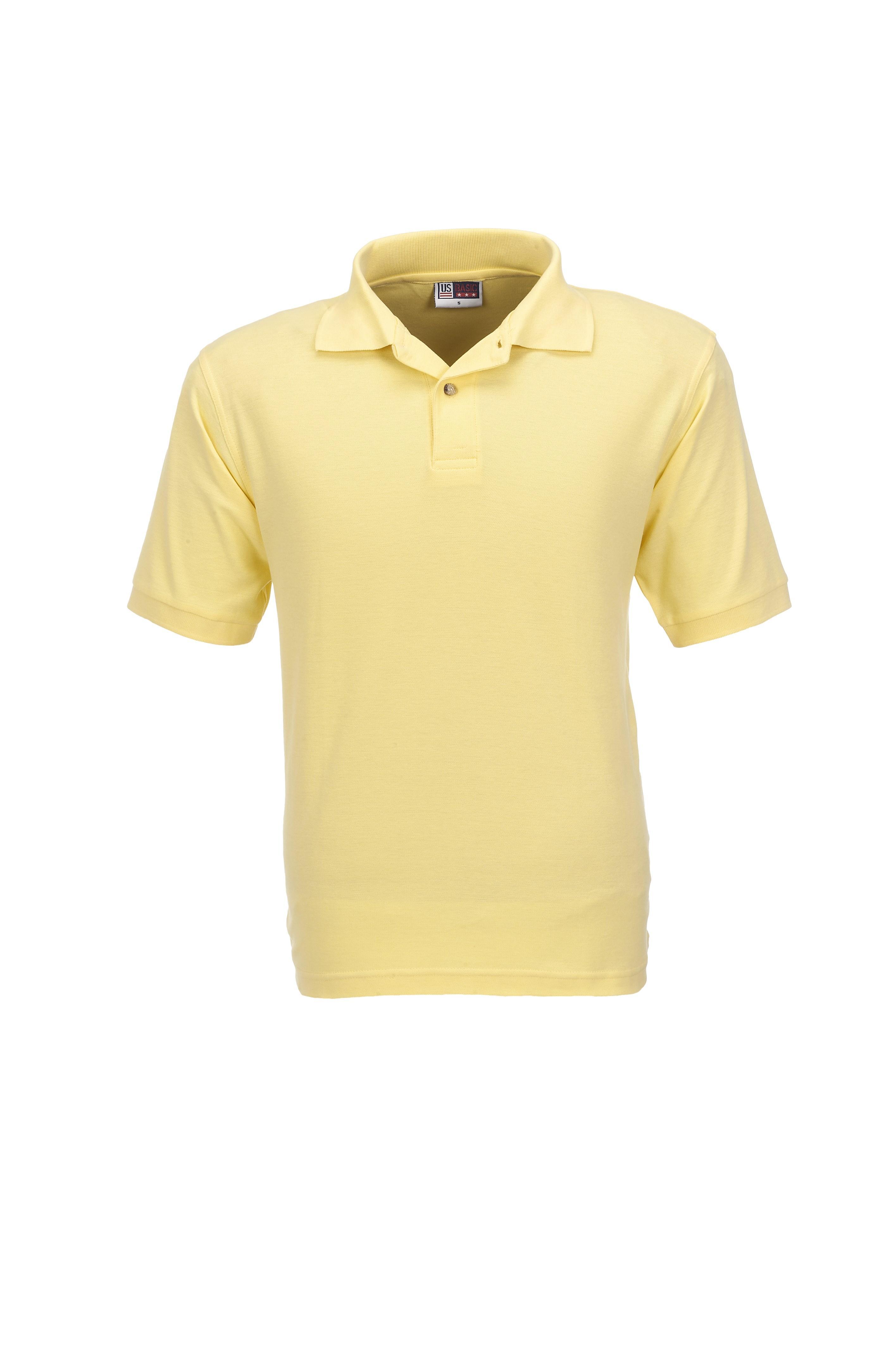 Mens Boston Golf Shirt - Yellow Only