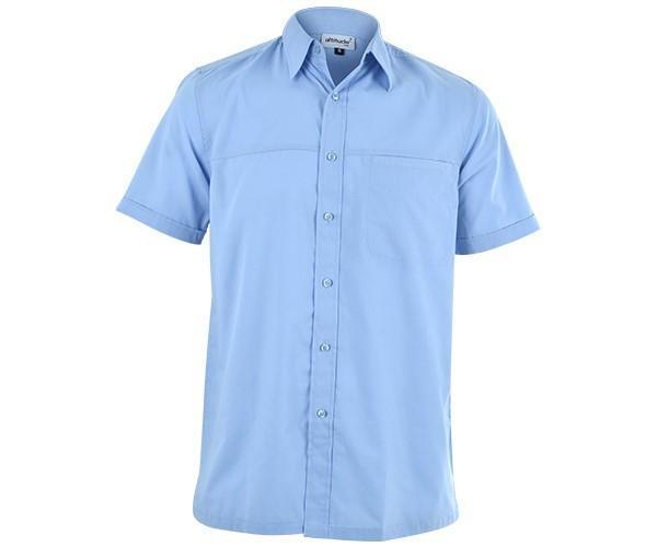 Harry Casual Short Sleeve Shirt - Sky Blue Only