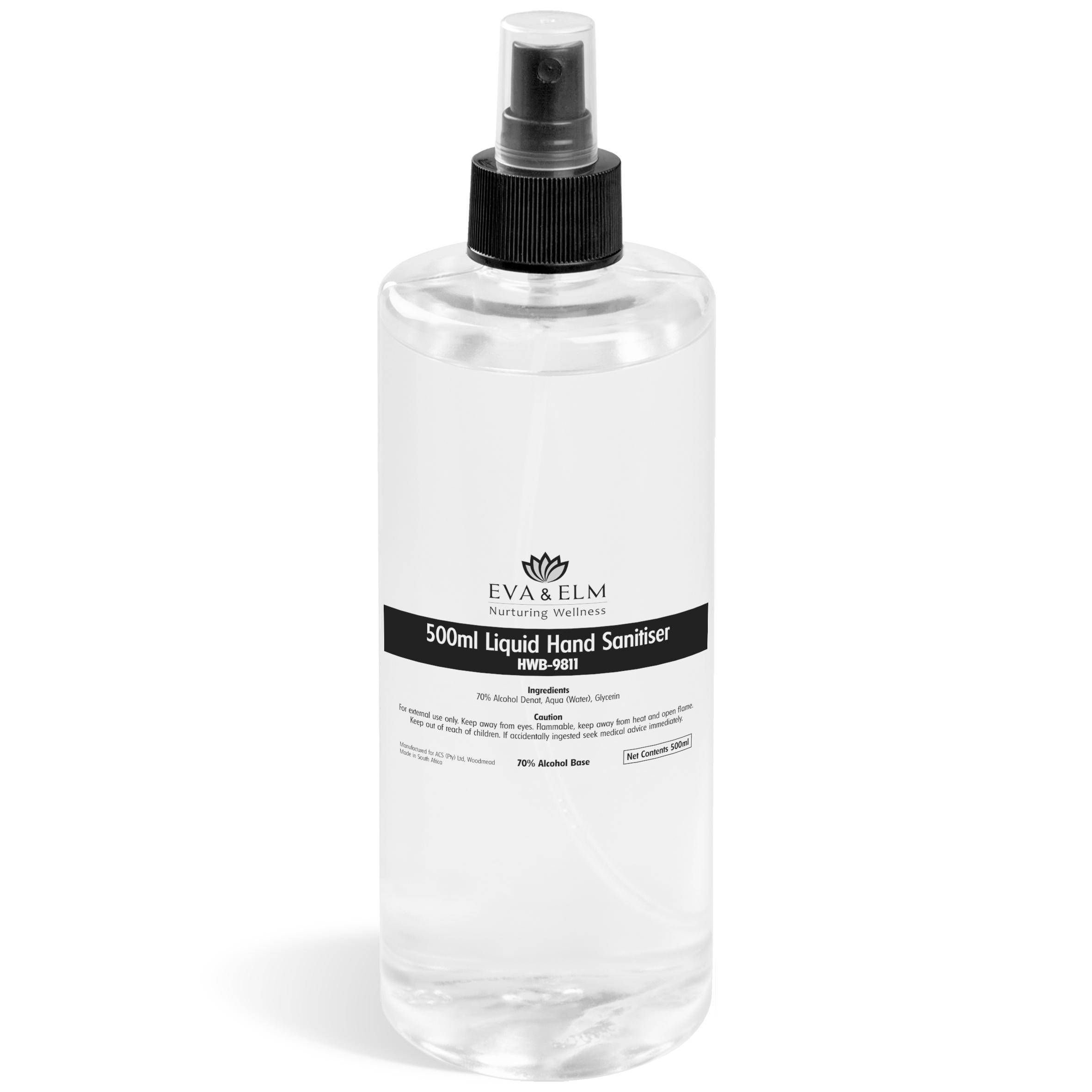 Eva & Elm Lunenberg Liquid Hand Sanitiser - 500ml