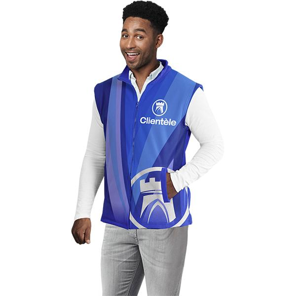 Mens Sublimated Body Warmer Xl