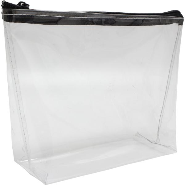 Cael Pvc Cosmetic Bag With 1 Col Screen Print
