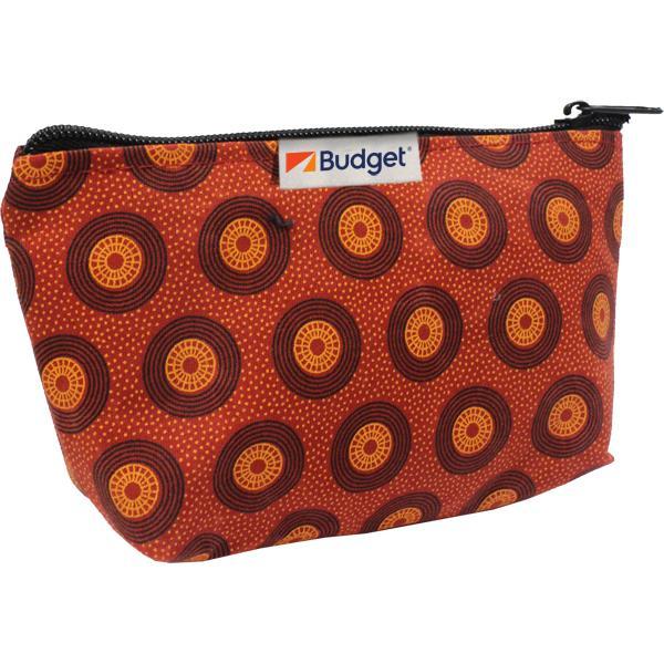 Shweshwe Vera Cosmetic Bag With Fc Tag