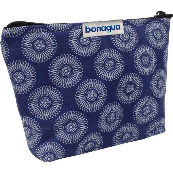 Shweshwe Amaya Cosmetic Bag With Fc Tag