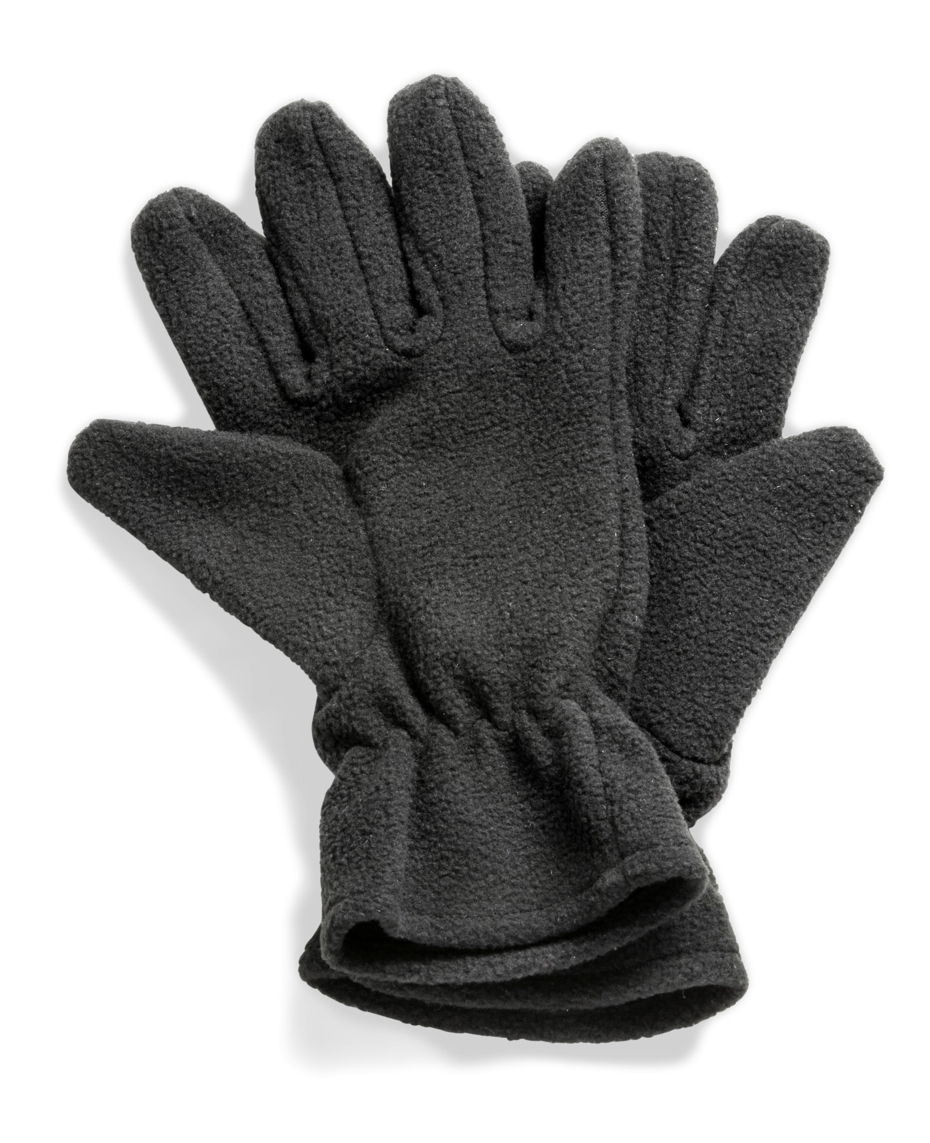 Alaska Fleece Gloves - Black Only