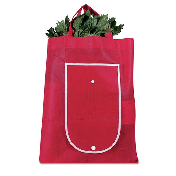 Fold Up Shopper - Red