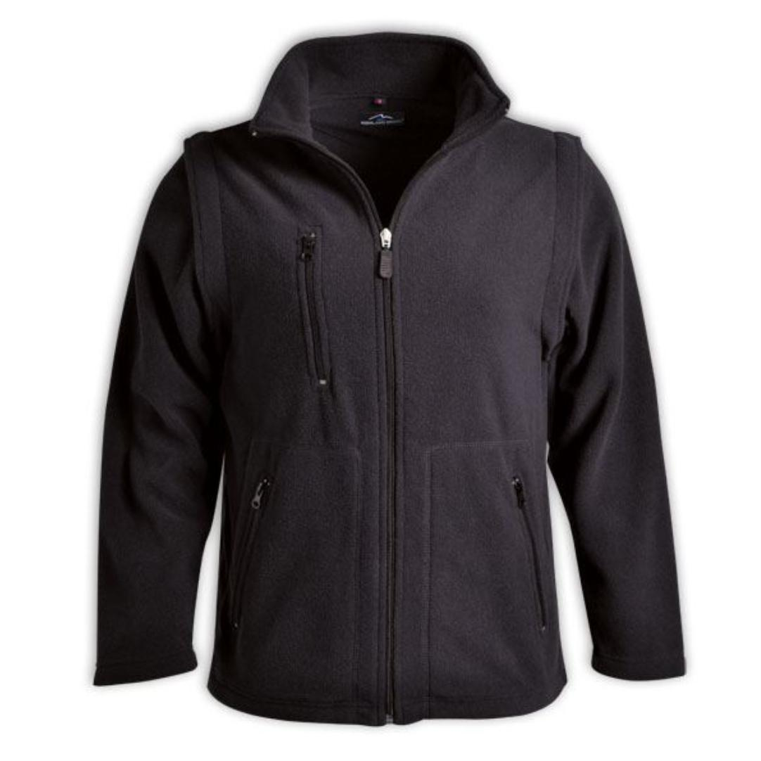 Ladies Zip Off Sleeve Polar Fleece - Alternative Stock (end Of Range) - Only Sample Orders Will Be Accepted As Returns.