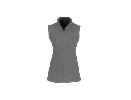 Ladies Yukon Micro Fleece Bodywarmer - Grey Only