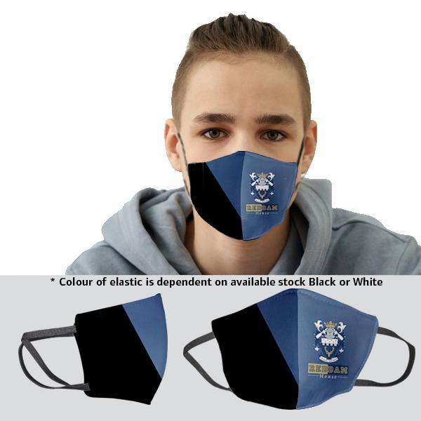 FACE MASKS & SHIELDS | Kiddo 3 Layer Washable Beak Mask With Fc 14-17y - 1