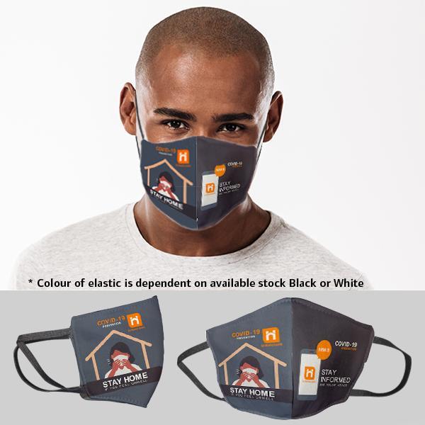 Be Safe 3 Layer Beak Mask-men | Stay Home