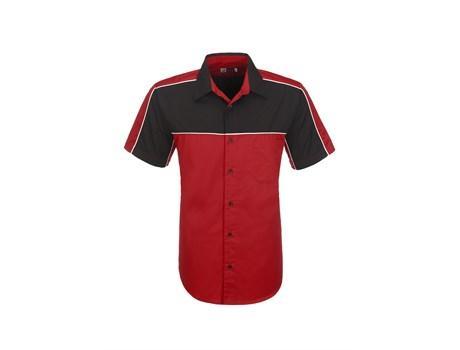 Mens Daytona Pitt Shirt - Red Only