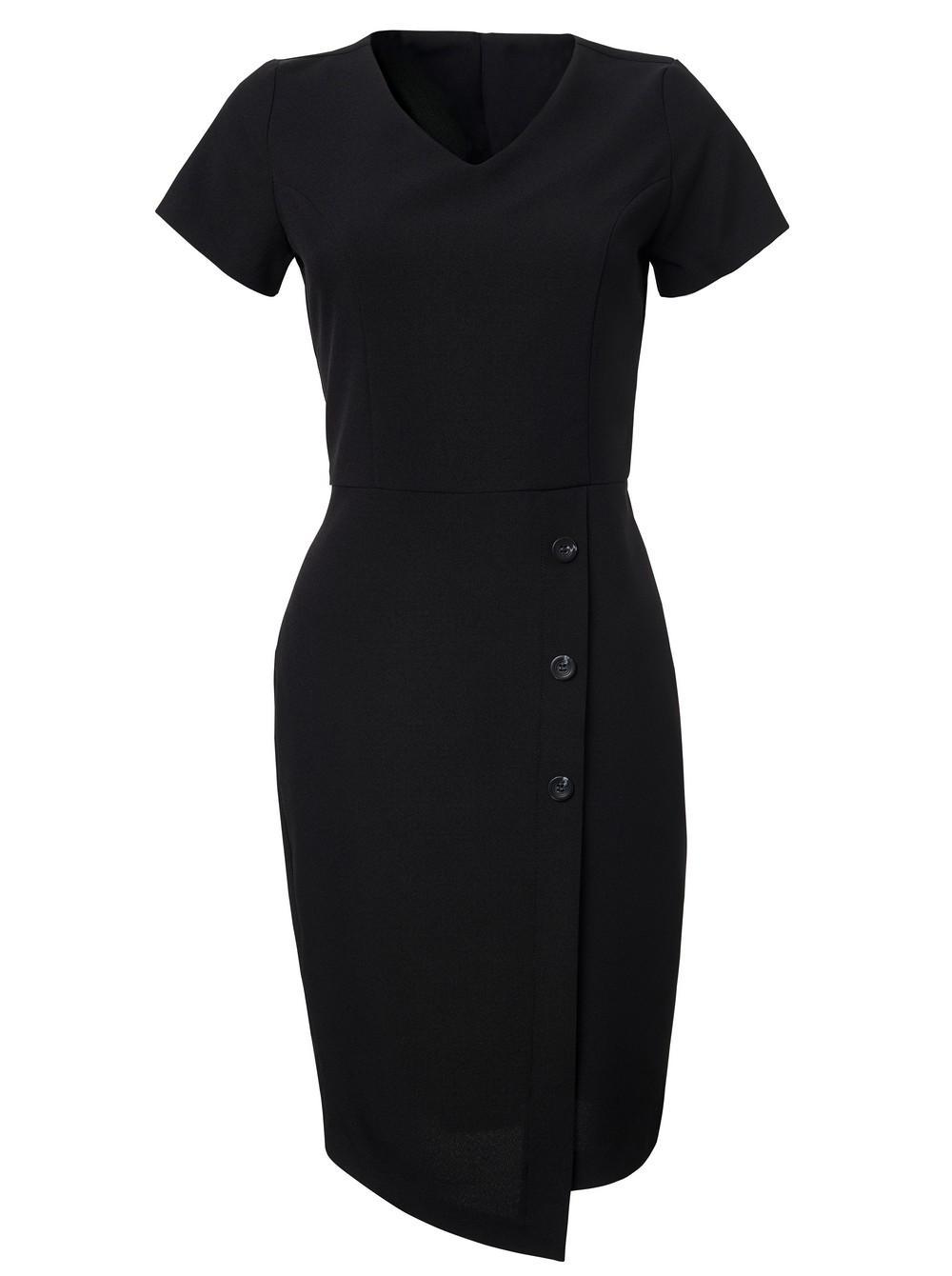 Ladies Simone Dress - Fabric 869 Black