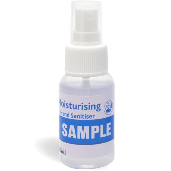 50ml Spray Sanitiser With Fc Sticker