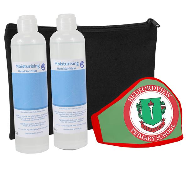 Boomer Sanitisers And Mask 250ml Set