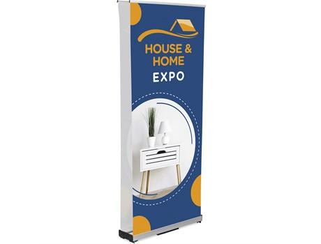 Champion Fabric Pull-up Banner Double-sided Incl Kit