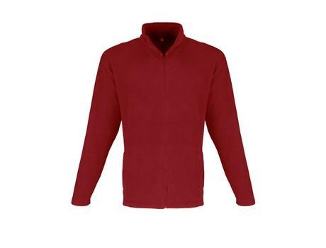 Mens Yukon Micro Fleece Jacket - Red Only