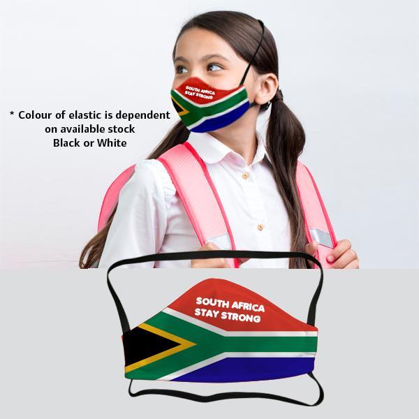 Smarty Sa Flag 3 Layer Beak Mask 9-13y