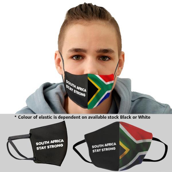 Kiddo Sa Flag 3 Layer Beak Mask 14-17y