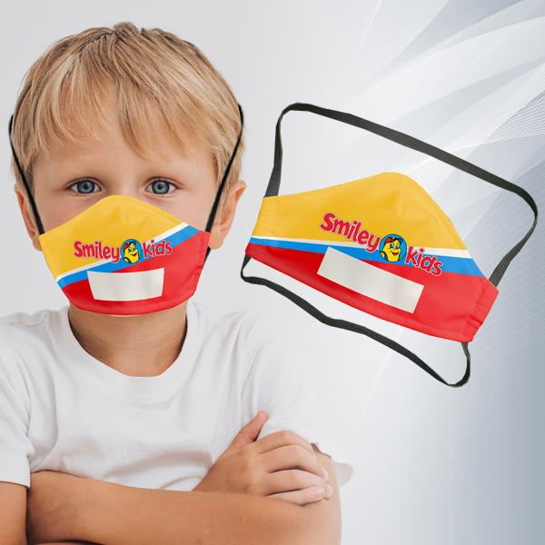 Tot 3 Layer Fc Face Mask With Area To Write Name